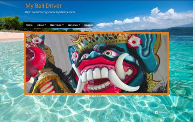 Graphic for My Bali Driver - Made Suweta's web site home page