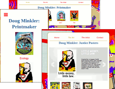Photo for Responsive Design and Doug Minkler's web site